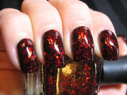 BottleShot-DeborahLipmann-RubyRedSlippers-Swatch-www.polishedcasual.blogspot.com